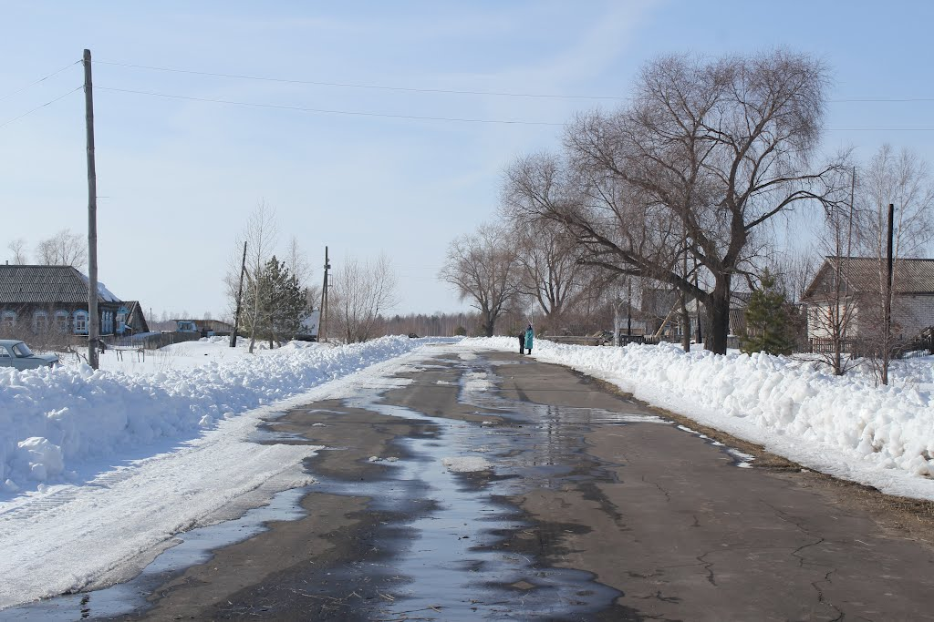 Единственная улица п. Барановка